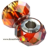 Swarovski becharmed briolette 14 mm