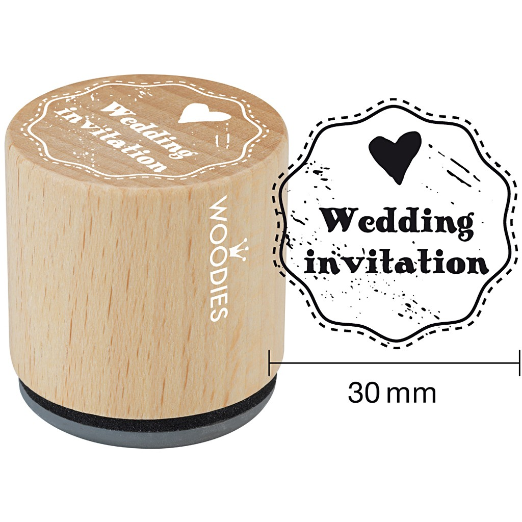 Pečiatka Wedding invitation 1 ks