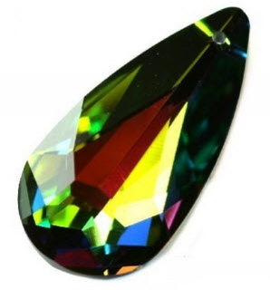Swarovski  teardrop 24x12 mm