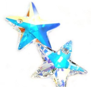 Swarovski star 20 mm