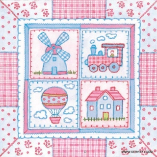Servítky Children´s Patchwork