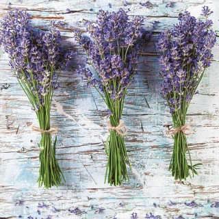 Servítky Three Bunches of Lavender