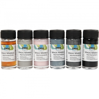 Farby Magic Marble 6x20 ml